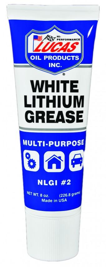 White Lithium Grease EZ Squeeze Tube