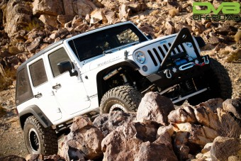 Jeep JK Hard Top Fast Back 07-18 Wrangler JK 4 Door Black 2 Piece DV8 Offroad