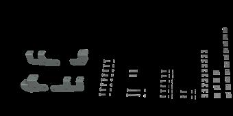 RVR2602 CUSTOM INSTALLATION KIT FOR UNIVERSAL MOUNTING RAILS FOR SOME RAM TRUCKS