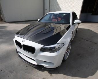 Agency Power Carbon Fiber Hood DTM Style BMW F10 M5 550 535 528 11-17 Agency Power