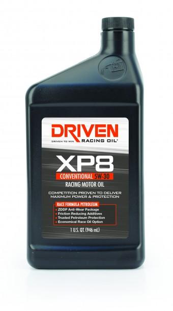 XP8 5W-30 Conventional Racing Oil - 1 Quart Bottle