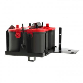 Dual Battery Tray
