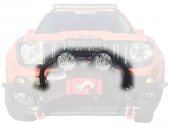 Winch Bumper Light Bar Mount;
