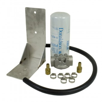 Remote Fuel Filter Kit - 2001-2012 Chevy Duramax