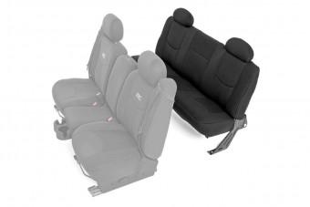GM Neoprene Rear Seat Cover | Black [99-06 1500]