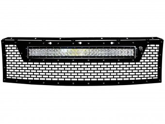 """2010-2014 Ford Raptor Grille (no front camera) - Fits 30"""" RDS Series Light"""