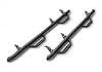 Nerf Step - W2W w/o Bed Acs (2 Stps) - 15-18(19-20 Clc) Ram1500 6'4 Quad-TXBlk