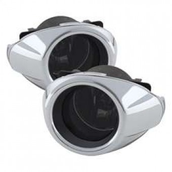 OEM Style Fog Lights with Switch - Smoke