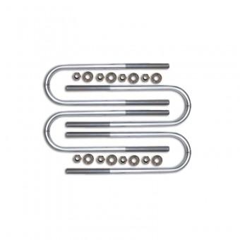 17 Inch Long Rear U-bolt Kit (Non Dually)