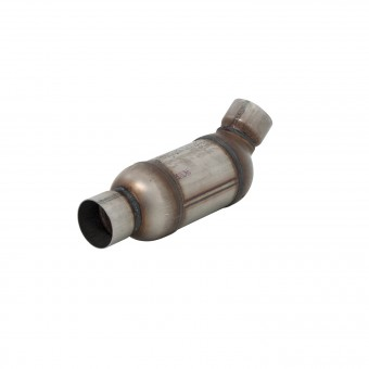 Catalytic Converter-OBDII D280-100-2.50 in. Inlet(Angle)/Outlet - CA Universal
