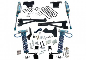 6 King Ed Radius Arm Lift Kit-17-20 F250/350 4WD w King Frt Clvr & Res Rr Shcks