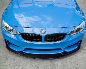 Aeroform Carbon Fiber 3 Piece Front Lip 15-17 BMW F82 F80 M4 M3 Agency Power