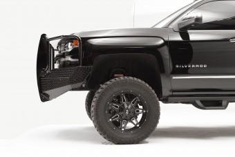 Black Steel Front Bumper