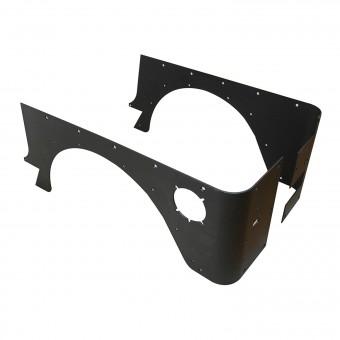 Steel Corner Guard Black