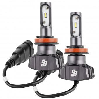 H11 S3 LED Headlight Bulb Conversion Kit, 6000K