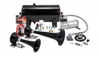 Pro Blaster? Dual Train Horn Kit w/ 150 PSI Sealed Air Compressor, 1.5 gal tank