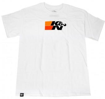 T-Shirt; K&N Original Logo on White