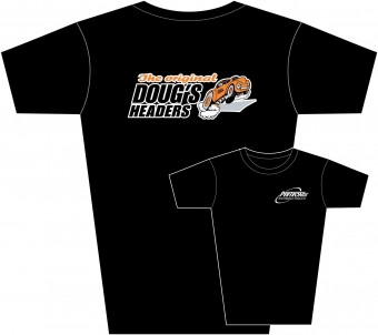 Tee Shirt Dougs Black Med