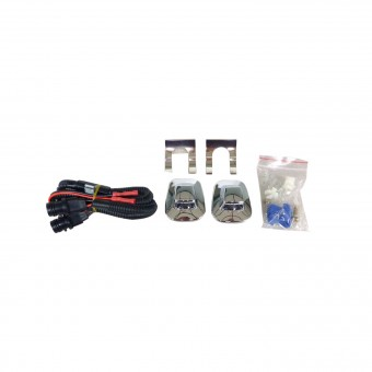 Perfect Match License Plate Light Kit
