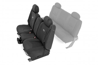 GM Neoprene Front Seat Cover | Black [99-06 1500]