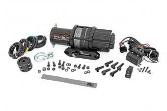 4500LB UTV/ATV Electric Winch w/ Synthetic Rope