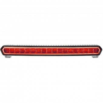 SR-L SERIES 20 INCH OFF-ROAD LED LIGHT BAR BLACK WITH RED HALO