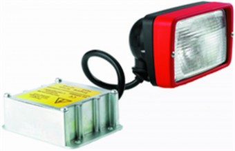 Picador Xenon Flush Mount Work Lamp (CR)