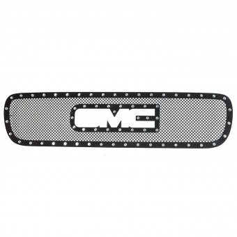 Evolution Stainless Steel Wire Mesh Overlay Grille Black