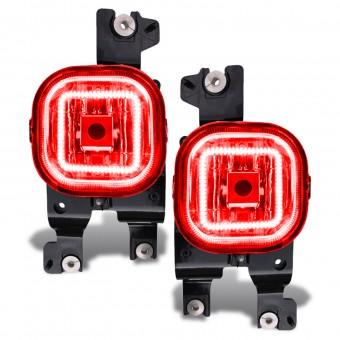 LED Fog Light Halo Kit, Red