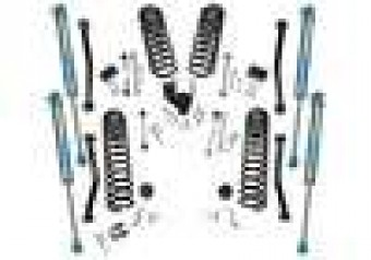Dual Rate Coil 4 Lift Kit w/ KING 2.0 Shocks - 18-20 Wrangler JL - 2Dr