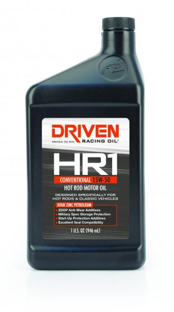 HR-1 15W-50 Conventional Hot Rod Oil - 1 Quart Bottle