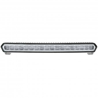 SR-L Series Marine 20 Inch LED Light Bar Black With White Halo