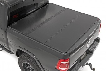 Dodge Hard Tri-Fold Bed Cover (19-20 Ram 1500 - 6ft 6in Bed)