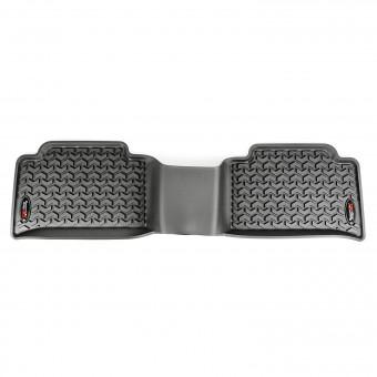 Floor Liners, Rear, Black; 15-16 Chevrolet Colorado/GMC Canyon