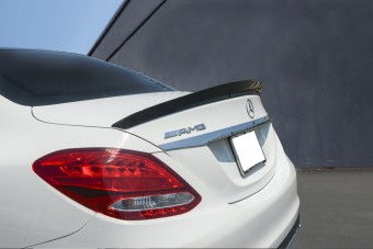 Agency Power Carbon Fiber Rear Spoiler Mercedes C63 Sedan W205