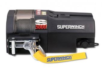 WINCH -S5000-12 VOLT -ROLLER FAIRLEAD-30 FT REMOTE