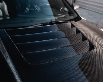 Aeroform Carbon Fiber Vented Hood 09-16 Nissan R35 GT-R Gloss Agency Power