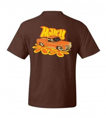 Holley HOLLEY C10 TEE - BROWN