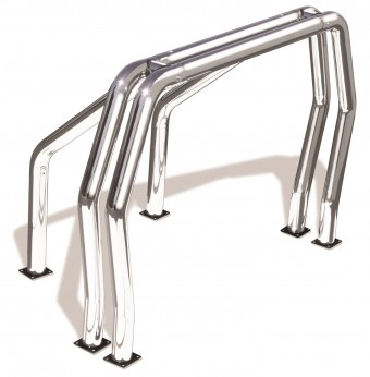 Classic Off-Road Style Bed Bars Kit
