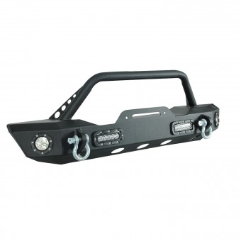 Off-road Front Bumper Black w/ LED
