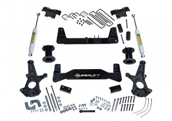 6.5 Lift Kit-07-16 Silv/Sierra 1500 2WD w Cast Steel Ctrl Arms w SL Rr Shocks