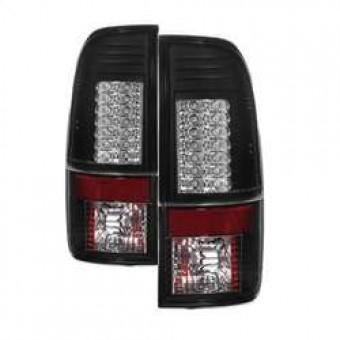 Version 2 LED Tail Lights - Black