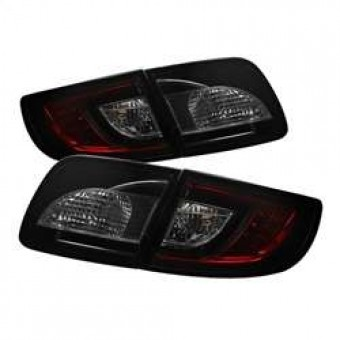 LED Tail Lights - Red Smoke