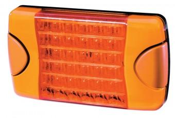 DuraLED® Multi-voltage, Amber lens