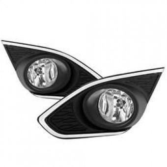 OEM Fog Light with Universal Switch- Clear