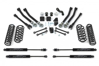 """5"""" SHORTARM SYS W/COILS & STEALTH 07-15 JEEP JK 4WD"""