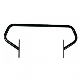 Grille Guard, Gloss Black; 87-95 Jeep Wrangler YJ