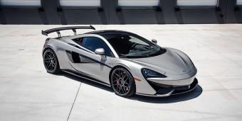 Agency Power Carbon Fiber GT4 Style Rear Spoiler McLaren 570S, 570GT, 570S Spider Agency Power