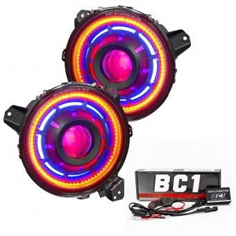 Oculus ColorSHIFT Bi-LED Projector Headlights, ColorSHIFT - BC1