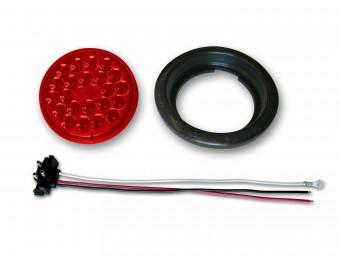 4 6-LED Taillight Flange Style Poison Spyder